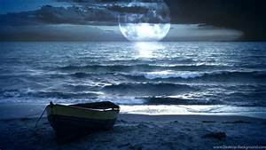 Beach Beautiful Night Wallpapers, Beach Pictures And ...