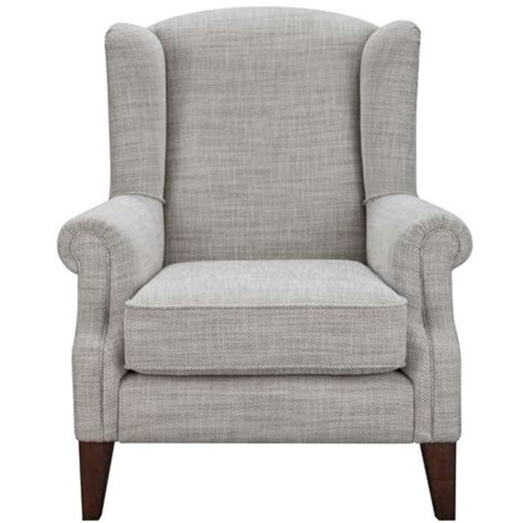 Freedom Armchairs by Classic Wing Armchair Herringbone From Freedom