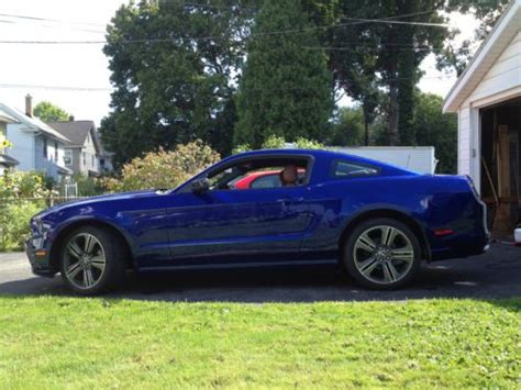 2013 ford mustang manual buy used 2013 ford mustang v6 premium performance pkg 6