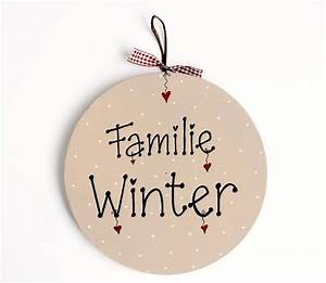 Türschild Familie Holz : 27 besten t rschilder bilder auf pinterest familien ~ Lizthompson.info Haus und Dekorationen