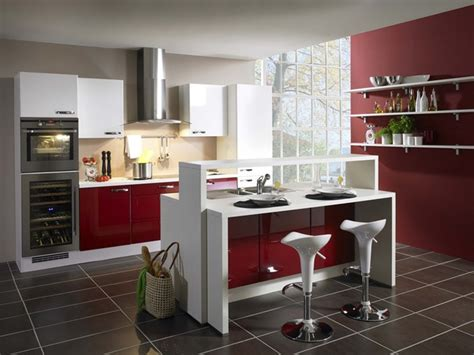 cuisine moderne awesome idee deco cuisine moderne contemporary awesome