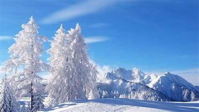 Winter Scenes Desktop Snow Nature Backgrounds Geographic