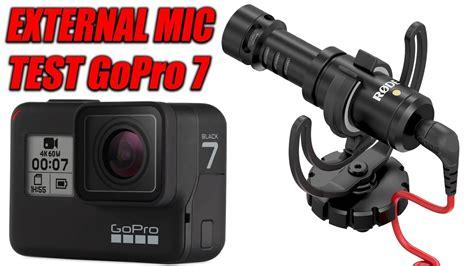 gopro hero black external rode mic text microphone