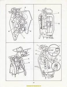 Singer 2000 Athena Sewing Machine Service Manual
