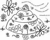 Coloring Honeycomb Printable Drawings Words Getcolorings 32kb 680px sketch template
