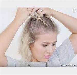 Comment Faire Un Carré Plongeant : coiffure 5 tutos faciles de tresses pour les coupes au carr terrafemina ~ Dallasstarsshop.com Idées de Décoration