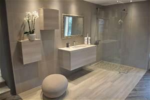 carrelage salle de bain ton pierre download page accueil With porte de douche coulissante avec carrelage moderne salle de bain