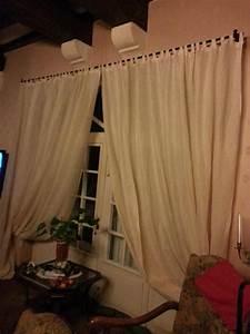 Rideaux à Pattes : 2 rideaux pattes sur mesure tissus elena ~ Teatrodelosmanantiales.com Idées de Décoration