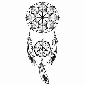 Dessin Atrape Reve : 17 best ideas about tatouage dreamcatcher on pinterest tatouages attrape r ves dream catcher ~ Farleysfitness.com Idées de Décoration