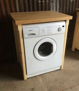 Tumble Dryer In Cupboard by Oak Top Appliance Gap Tumble Dryer Washing Machine Cover
