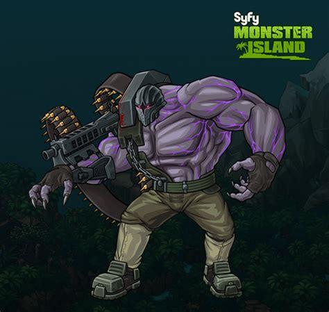 syfy monster island game assets drew johnson