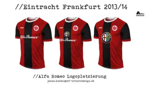 Alfa Romeo Volgend Jaar Op Shirts Van Eintracht Frankfurt