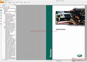 Land Rover Discovery Ii 1999 - 2003 Electrical Library