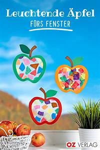 Herbstbasteln Für Fenster : perfekte herbstdeko leuchte pfel f rs fenster herbstbasteln mit kindern ~ Orissabook.com Haus und Dekorationen