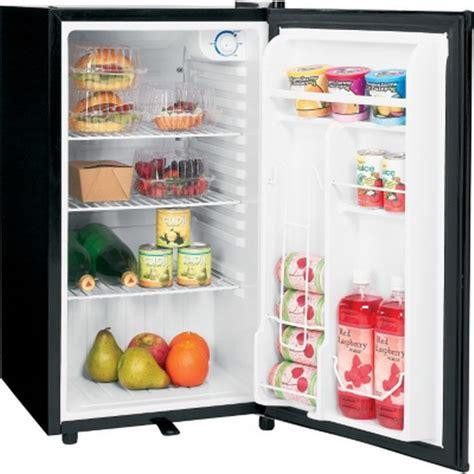 ge small refrigerator  cu ft compact mini dorm