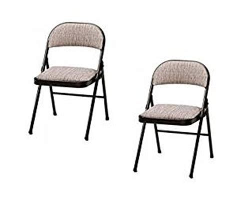 Meco Padded Folding Chairs by Meco Deluxe Padded Folding Chair Cinnabar 2