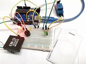 Arduino Rfid Door Lock Project Using Arduino Uno  Rfid