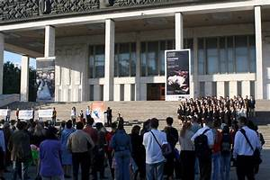 Special Press Conference Held in front of the National ...