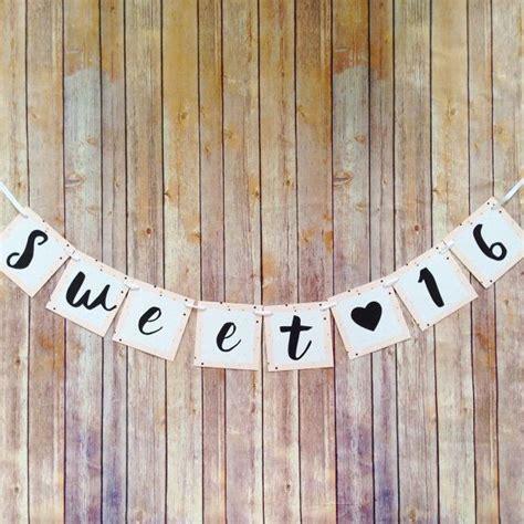 Sweet 16 Banner Template by Best 25 Sweet Sixteen Ideas On Sweet 16
