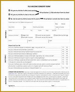 6 vaccination consent form template fabtemplatez With vaccination consent form template