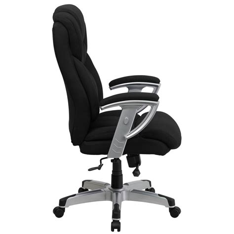 big and tall office desk chairs flash furniture hercules series 400 lb capacity big