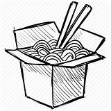 Wok Drawing Noodles Box Sushi Chinese Icon Clipart Transparent Chopstick Line Food Drawings Chopsticks Snack Paintingvalley Clipartmag Iconfinder sketch template