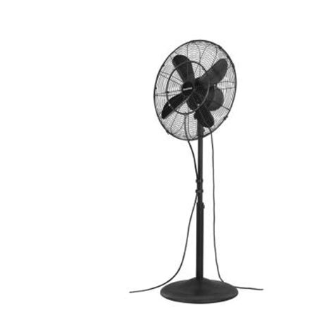 patio misting fans home depot arctic cove 18 in 3 speed oscillating misting fan modf001