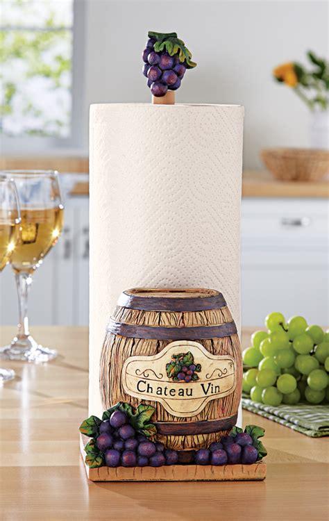 Grapevine Wine Country Kitchen Decor Grapes W Wine Barrel