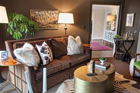 Throw Pillows For Brown Sofa by Photo Page Hgtv