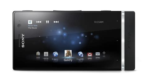 sony xperia u black on mobile