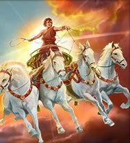 Helios Greek Sun God Chariot