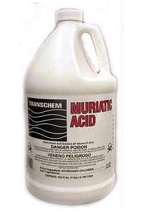 masonry sealers cleaners stains muriatic acid