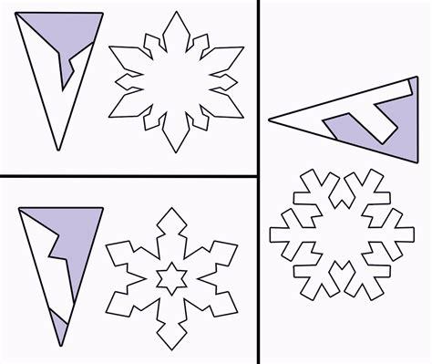 free snowflake template printable paper snowflake template