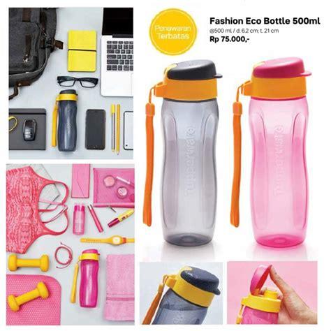 jual tupperware fashion eco bottle  ml tempat minum