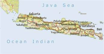 maps map java indonesia