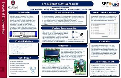 Senior Engineering Electrical Poster Project Uark University