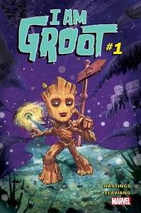 Baby Groot Is Getting His Own Comic Just In Time For