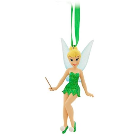 disney christmas ornament tinker bell with wand