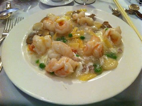 Shrimp with Lobster Sauce Chinese