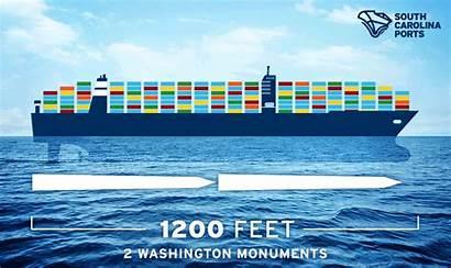 Charleston Ship Port Container Vessel Coast Harbor