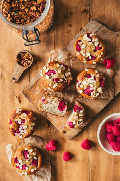 muffins flocons davoine  fruits rouges