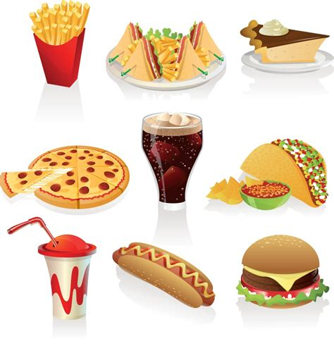 cuisine clipart food clip free downloads fast food clipart vector vector graphics quality meals