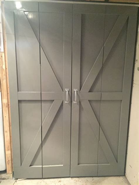 diy bi fold barn doors bifold barn doors barn door