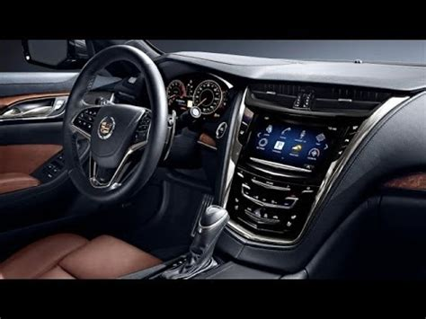cadillac cts sedan interior review youtube