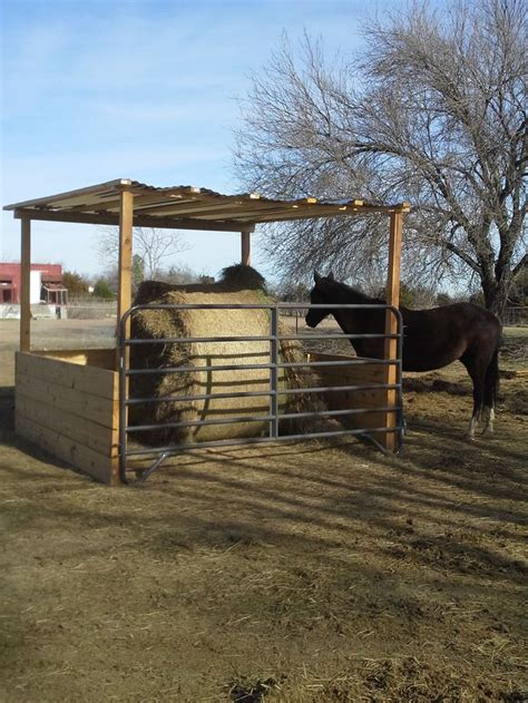 hay feeders for our bale feeder we ve completely eliminated hay