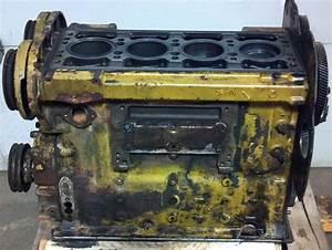R  F  Engine Short Block Good Used Detroit Diesel 4 N  04db32476 Block  5101886 Mode