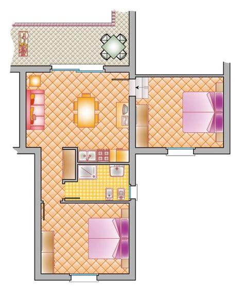 trois pieces cuisine appartement à trois pièces 65 m