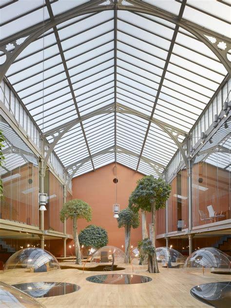 cupola plexiglass inspiring offices desk landscape interior design