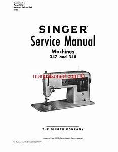 Sewing Machine Manuals  Sewing Instruction