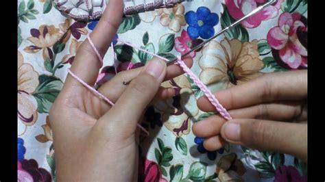 crochet   chain teknik mudah merajut  pemula